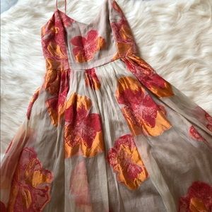 Tracy Reese floral cocktail dress
